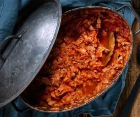 Ragout-Sauce mit Pappardelle