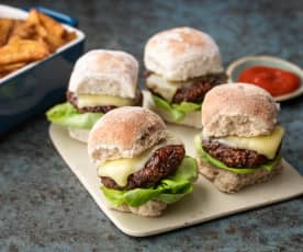 Barbecue Beanburger Sliders