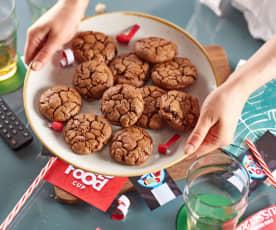 Cookies aux chocolat et canneberges