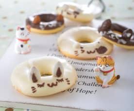 可愛動物甜甜圈