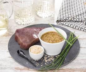Marinatura alla salsa di soia e miele