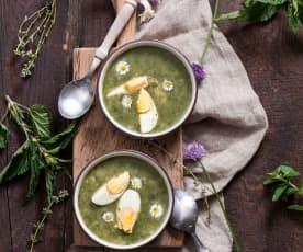 Dolnośląska zupa dziewięciozielna