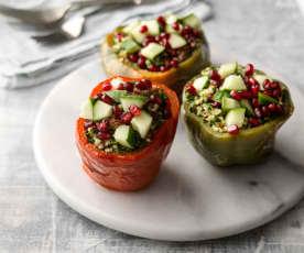 Tabbouleh-stuffed Peppers