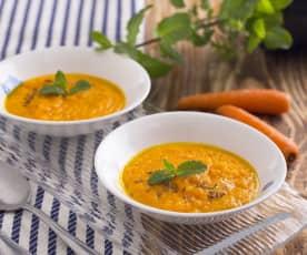 Purè di carote speziato