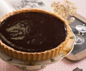 Crostata di pere al cioccolato