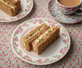 Classic Egg and Cress Sandwiches