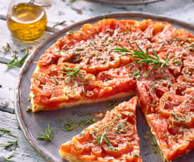 Tarte Tatin mit Tomaten