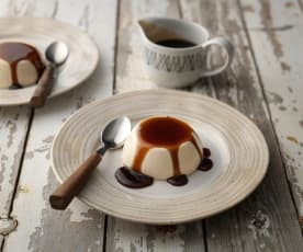 Amarula Panna Cotta with Coffee Sauce