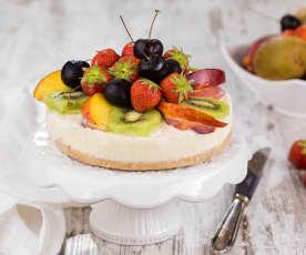 Crostata gelata di frutta