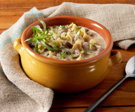 Chicken Stroganoff Soup