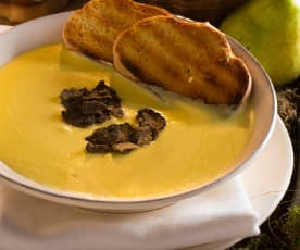 Crema di topinambur e tartufo