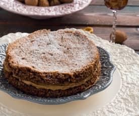 Torta mascarpone e noci