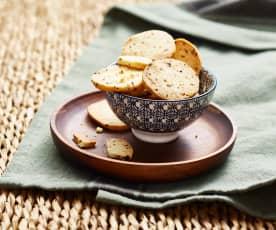Biscuits apéritif crème et oignon