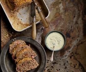 Rolo de carne crocante