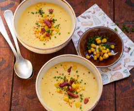 Corn Chowder (Amerikanische Maissuppe)
