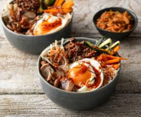 Bibimbap (Beef Rice Bowl)