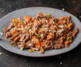 Bulgogi (Pan-fried Marinated Beef)