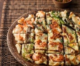 Pajeon (Savoury Seafood Pancake)