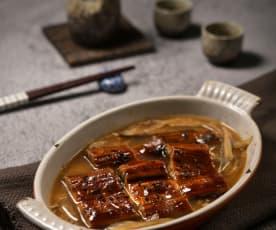 鰻魚柳川鍋