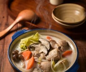 奈良飛鳥牛奶鍋