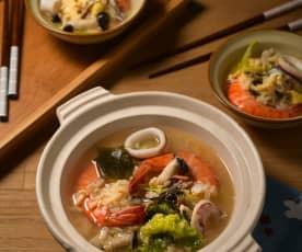 北海道雜炊鍋