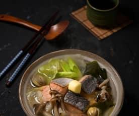 鮭魚奶油鍋