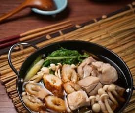 秋田烤米棒鍋