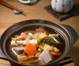 澤煮蔬菜鍋