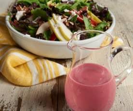 Cranberry Vinaigrette Fall Salad