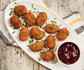 Turkey and Mashed Potato Croquettes