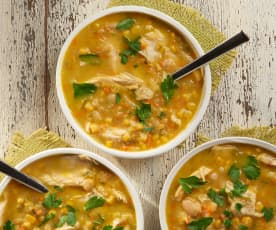 Turkey and Corn Soup