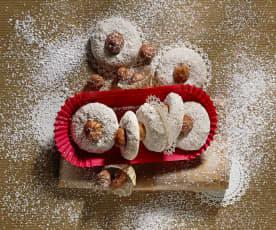 Kruche ciasteczka z orzechami laskowymi (bezglutenowe)