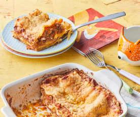 Lasagne à la bolognaise et ricotta