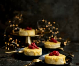 Cheesecake soufflé