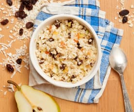 Pear and Coconut Muesli