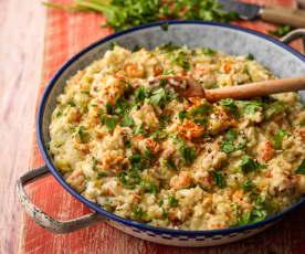 Louisiana Rice and Shrimp