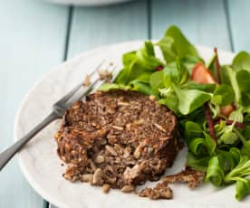 Lentil, Mushroom and Nut Patties
