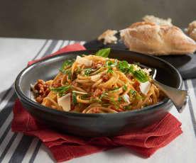 Sun-Dried Tomato Spaghetti