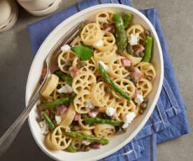 Asparagus and Ham Rotelle