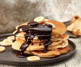 Bananenschalen-Pancakes