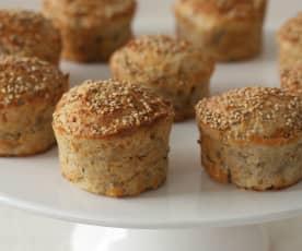 Muffin al Parmigiano reggiano