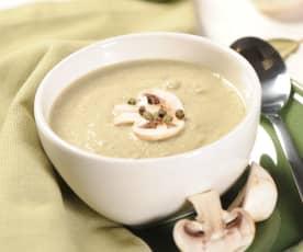 Zupa krem z cukinii i pieczarek