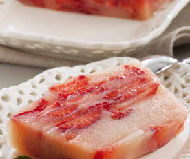 Strawberry and Pear Terrine