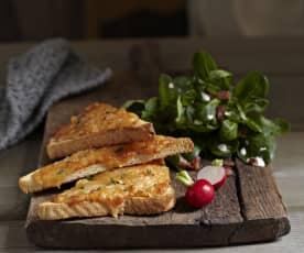 Alpský sýrový toast