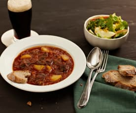 Dušené hovězí stew