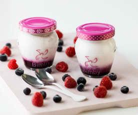 Iogurte de frutos vermelhos