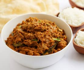 Sri Lankan Red Beef Curry