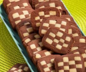 Biscotti scacchiera