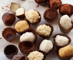 Weiße Schokolade-Trüffel