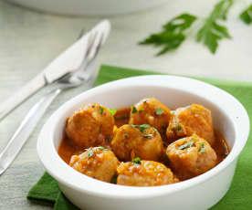 Meatballs in Spanish sauce